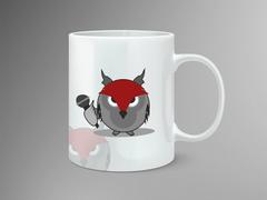 Baykuş Logo/Maskot Mug Tasarımı