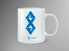 AE Logo Mug Tasarımı