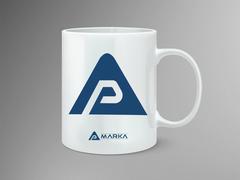AP Logo Mug Tasarımı