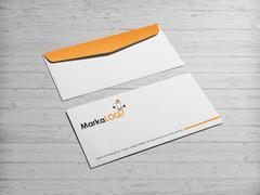 Martı Logo Zarf Tasarımı