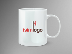 Kuş Logo Mug Tasarımı
