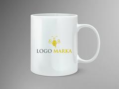 Arı Logo Mug Tasarımı