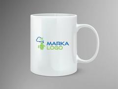 Bulut Logo Mug Tasarımı