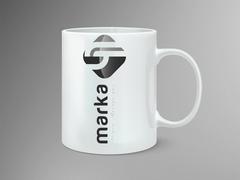 LH Logo Mug Tasarımı