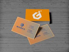 G Harfli logo Kartvizit Tasarımı