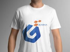 G Harfli logo T-shirt Tasarımı