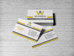 WA Logo Kartvizit Tasarımı