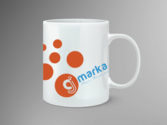 G ve İ Logo Mug Tasarımı