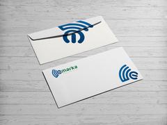 WİFİ logo Zarf Tasarımı
