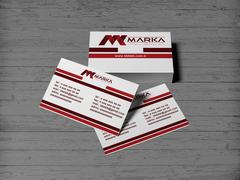 M Marka Kartvizit Tasarımı