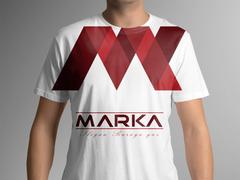 M Marka T-shirt Tasarımı