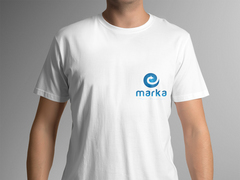 Teknoloji Logo T-shirt Tasarımı