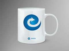 Teknoloji Logo Mug Tasarımı