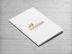 Yapraklı Logo Dosya Tasarımı