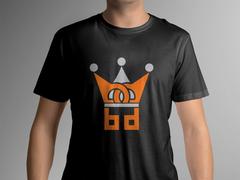B ve D logo T-shirt Tasarımı