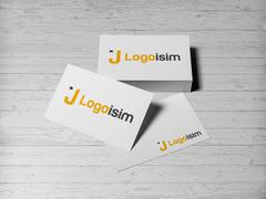 J Logo Kartvizit Tasarımı
