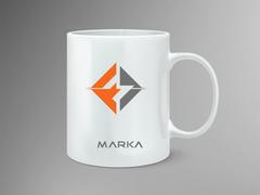 FM Logo Mug Tasarımı