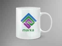 P ve S Logo Mug Tasarımı