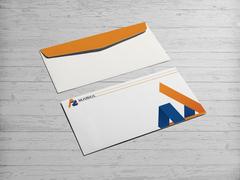 A ve Z Logo Zarf Tasarımı