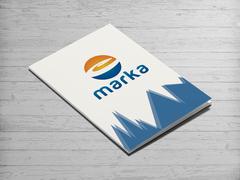 E harfi logo  Dosya Tasarımı