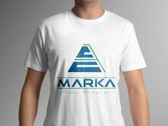 A Harfi Logo Tasarımı T-shirt Tasarımı