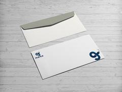 G ve İ Logo Zarf Tasarımı