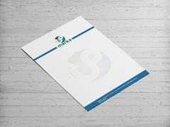 U ve P Logo Antentli K. Tasarımı