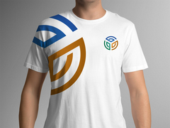 3 Ortaklı Daire T-shirt Tasarımı
