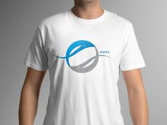 Daire Dalgalar T-shirt Tasarımı