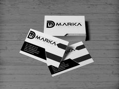 D ve M Marka Kartvizit Tasarımı