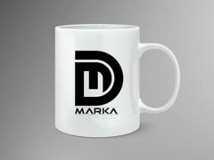 D ve M Marka Mug Tasarımı