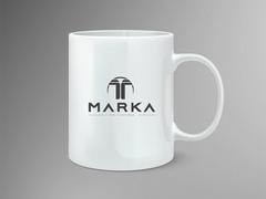 T Logo Mug Tasarımı