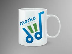 market marka Mug Tasarımı