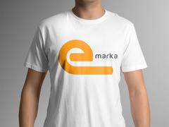 E Marka T-shirt Tasarımı