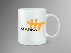 HT Logo Mug Tasarımı