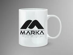 M Marka Mug Tasarımı