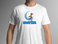 Maskot Logo T-shirt Tasarımı