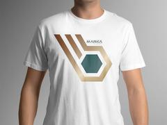 B marka logo T-shirt Tasarımı