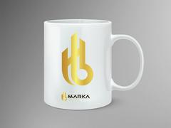 HB Logo Mug Tasarımı
