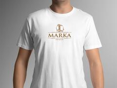 L marka logo T-shirt Tasarımı