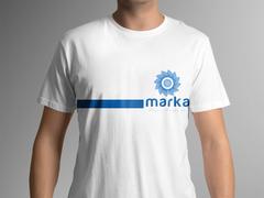 Çiçek Logo T-shirt Tasarımı