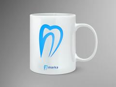 Diş Logo Mug Tasarımı