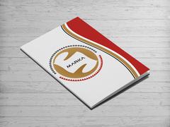 Yuvarlak amblemli logo Dosya Tasarımı