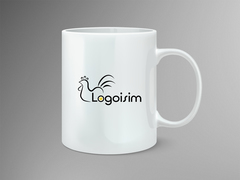 Tavuk Logo Mug Tasarımı