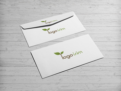 Logo İsim Zarf Tasarımı