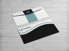 VE Logo Zarf Tasarımı