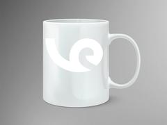 VE Logo Mug Tasarımı