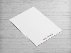 Renkli Tipografik Logo Antentli K. Tasarımı