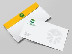 Tarım Logo Zarf Tasarımı