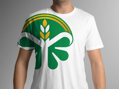 Tarım Logo T-shirt Tasarımı